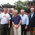 APPCG team at the Yu Garden